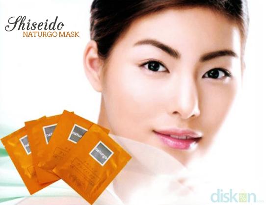 Shiseido Naturgo Mud Mask Wajah Bersih Bebas Komedo & Minyak Berlebih ...