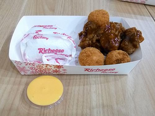 Richeese Factory Menu Ayam Fenomenal Jogja